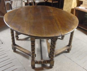 English Barley Twist Rustic Wakes Kitchen Table