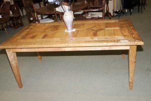Farmhouse Kitchen Table Mango Wood Refectory