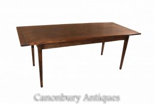 Farmhouse Refectory Table Oak Kitchen Diner
