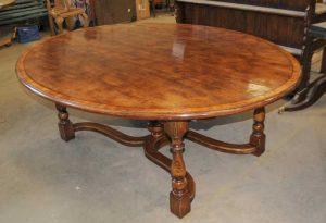 Oak Kitchen Table Oak Oval Top Refectory Dining