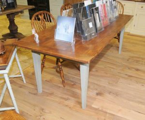 Painted Oak Country Kitchen Refectory Dining Table