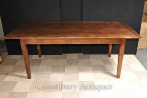 Refectory Farmhouse Dining Table Kitchen Diner Cherry